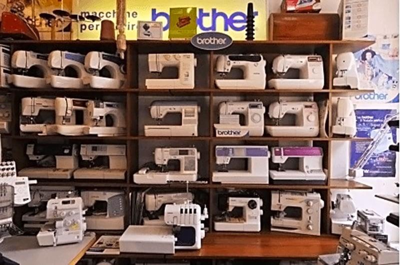 macchine per cucire Milano
